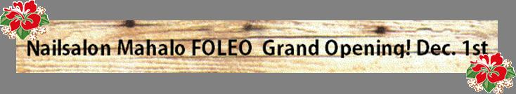 FOLEOオープンアイキャッチ
